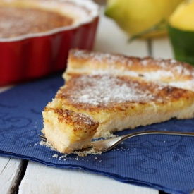 Crostata crispy lemon