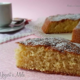 Torta yogurt e mele