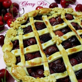 Balsamic Cherry Pie per Re-cake 9