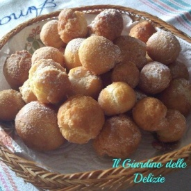 castagnole frittelle dolci