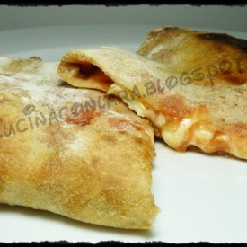 Calzone come in pizzeria