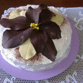 Torta allo yogurt e crema chantilly