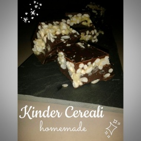 Kinder cereali homemade