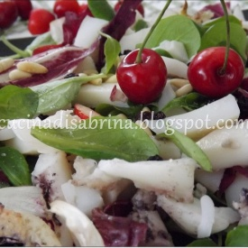 Insalata di seppie in agrodolce