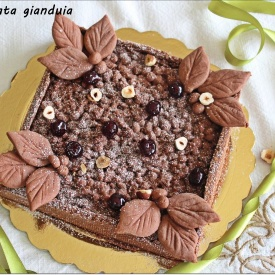 Crostata gianduia... alias crostata alla nutella