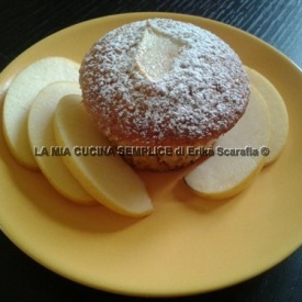Muffin allo yogurt e mele