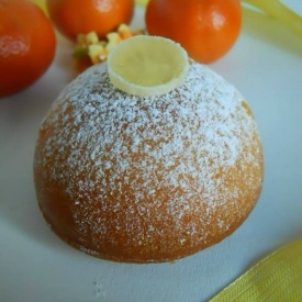 Mini cake allo yogurt e mandarino