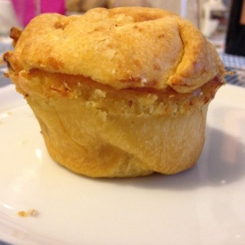 Mini chicken pie