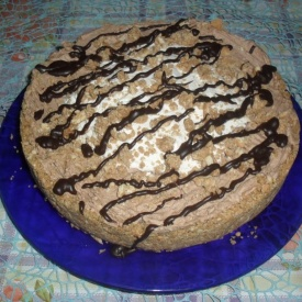 Torta fredda con wafer