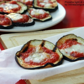 PIzzette light di melanzane