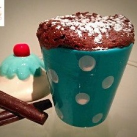 Mug Cake Light al Cioccolato