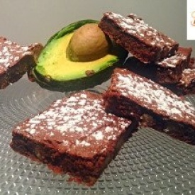Brownies Light al Cioccolato e Avocado