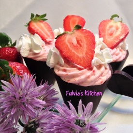 #Mousse di #fragole