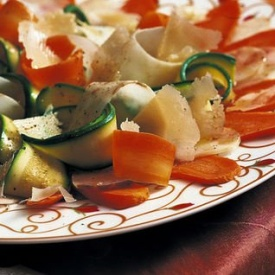 Carpaccio vegetale