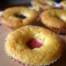 Mini muffin ai frutti di bosco