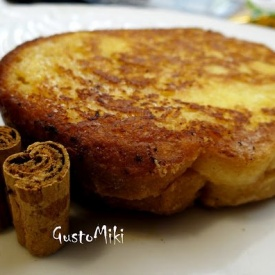 French toast Camembert e cannella