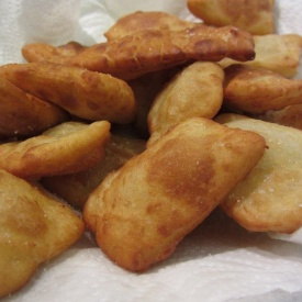 Fugassin, focacce fritte liguri alle patate