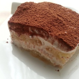 Tiramisù light!