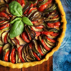 Crostata Ratatouille