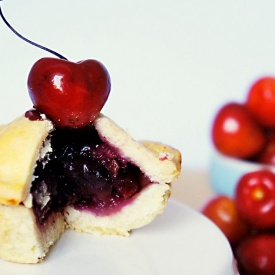 Mini Balsamic Cherry Pie