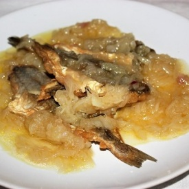 Nasello fritto in agrodolce