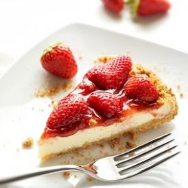Cheesecake alle fragole cotta