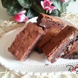 Brownies con Noci Pecan