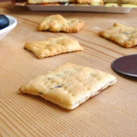Crackers alle olive