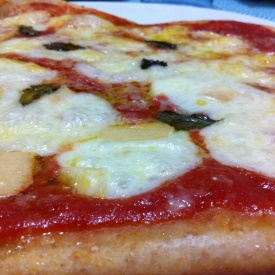 Pizza margherita con farina integrale