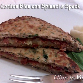 Petto di pollo con spinaci, cordon bleu