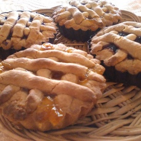 Crostatine all'avena (gluten free)