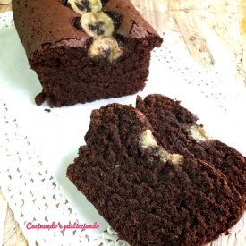 Plumcake light cioccolato e banana