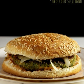 Burger di broccolo siciliano